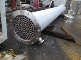 튜브형 열교환기30m² /각종 열교환기염가판매/콘덴서/컨덴서/응축기