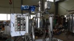 호모믹서 200리터 진공아지호모믹서 진공믹서기 고속교반기 고속반응기