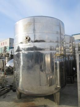 10톤 삼중교반탱크