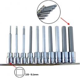 헤드복수 육각렌치(육각복수 3/8-110mm) 10pcs세트