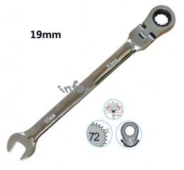 플렉시블(굴절) 기어렌치(GEAR WRENCH) 19mm