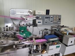 OMORI NP 4578 / SP 100/15, 물티슈 제조 자동포장시스템