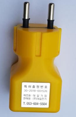 콘센트 라인테스터기/220v 도통테스터기 / 전기테스트기 /전기테스터기 / 전기검정기 / 도통시험기