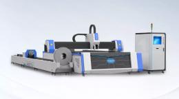 두 테이블 판금 및 파이프 레이저 커팅기,레이저컷팅기