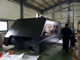 경기 시화공단 아진테크, 파이버 레이저 LM3015H 1kw 납품 완료.