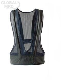 에어쿨자켓 산업용 에어조끼 냉각기 포함 세트 상체형 KD-A700A (콤프레샤 부착용) [여름계절상품] 경도147816001