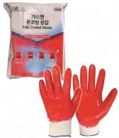 무료배송)가드맨 라텍스 온코팅 장갑 산업용 건설용 작업장갑 미끄럼방지 (FREE)(200조) 특허상품