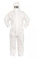 무료배송) 가드맨 FS 흰색 원피스 방제복 (XL,2XL) (24EA) 작업복