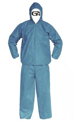 무료배송) 가드맨 CS 투피스 보호복 정전기방지 (하늘색,XL,2XL) (24EA)