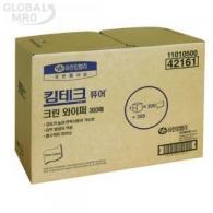 유한킴벌리 킴테크 퓨어 크린 와이퍼 300매 (42161)