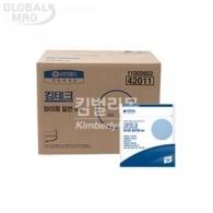 유한킴벌리 킴테크 와이퍼 일반형 50매 [5팩/묶음] (42011)