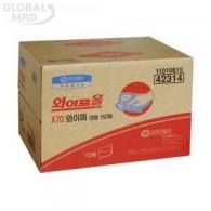 유한킴벌리 와이프올 X70 와이퍼 152매 [박스] (42314)