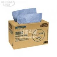 유한킴벌리 킴테크 와이퍼 대형 200매 (42023)