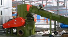 100HP 대형 분쇄기