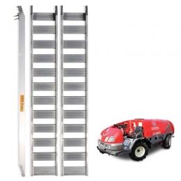 농기계 운반상하차용 사다리 8자 1.5톤, 알루미늄사다리