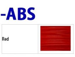 ABS- 필라멘트 Red