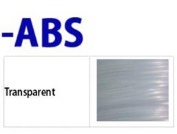ABS- 필라멘트 Transparent