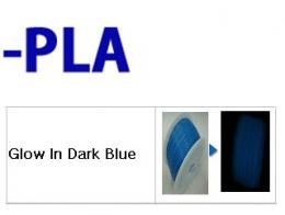 PLA - 필라멘트 Glow In Dark Blue