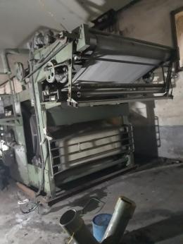 섬유원단 산포라이징 기계