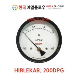 HIRLEKA. 200DPG, 차압계, DPG