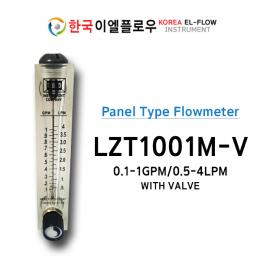 LZT1001M-V, FLOWMETER, 판넬형 유량계