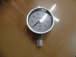 우진계기 압력게이지 WOOJIN PRESSURE GAUGE 35 kgf/cm²