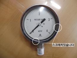 우진계기 압력게이지 WOOJIN PRESSURE GAUGE 4 kgf/cm²