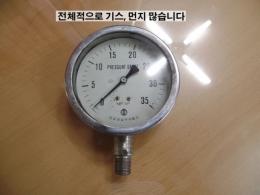 오성실업 압력게이지 PRESSURE GAUGE 35 kgf/cm²