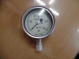 NKS / KOREA NAGANO PRESSURE GAUGE 압력게이지 250 kgf/cm²