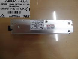 DENSEI-LAMBDA 파워서플라이 IN:100-240VAC 0.9A OUT:12V 4.3A JWS50-12/A