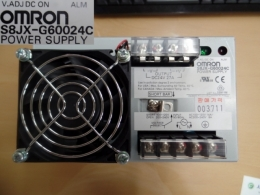 OMRON 파워서플라이 IN:100-120V 14A/200-240V 8A OUT:DC24V 27A S8JX-G60024C