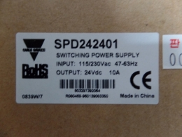 Carlo Gavazzi POWERSUPPLY SPD242401 INPUT:11/230Vac 47-63Hz OUTPUT:24Vac 10A