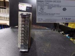 OMRON PLC C200H-OC222
