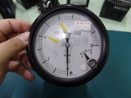 NAGANO PRESSURE GAUGE (압력게이지) 0~10 kg/cm²