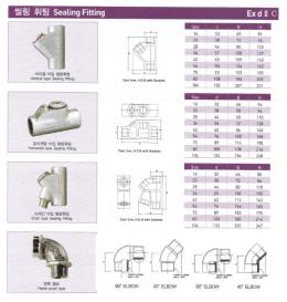 배관/전선관 - 씰링휘팅(Sealing Fitting),노출배관/안전증/방폭형부속품