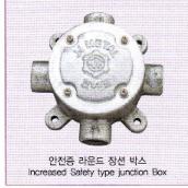 배관/전선관 - 장션박스(Junction Boxes),노출배관/안전증/방폭형부속품