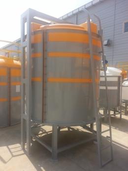 PE하부완전배출형약품탱크PE하부완전배출형약품탱크/화학약품탱크/내산탱크/화학탱크 500L ~ 10000L