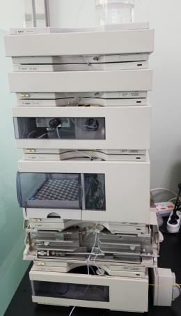 HPLC 분석장비 HP 1100 series