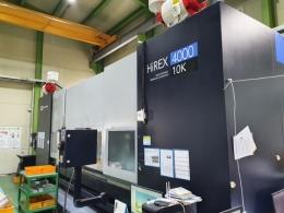 수직머시닝센터,중고수직머시닝센터,HIREX4000 BT40 10K 2016 칩컨베이어 AICC2 DATASERVER