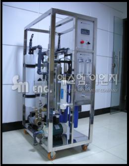 순수,초순수 제조 장치,상세정보 EDI 2톤 HR
