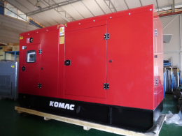 KOMAC 커민스 엔진 디젤 발전기 300kW(375kVA)