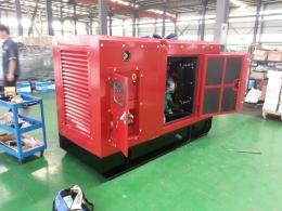 KOMAC 커민스 엔진 디젤 발전기 100kw(125kVA)