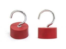 옷걸이자석(빨강) JLR-4525D [옷걸이/행거/고리자석/자석고리/고리/옷걸이/공구걸이/자석/마그네틱]