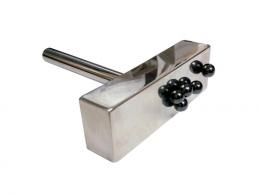 판자석 JLP-01S [자석판/철편제거/철편수거/철분제거/자석청소기/자력선별기/자석/마그네틱]