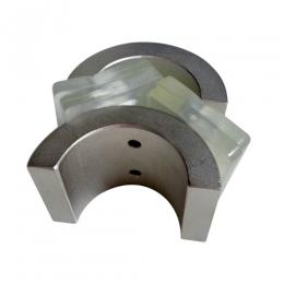 링형 네오디움자석[링형자석/네오듐/ND/반원모양/초강력자석/내외경자석/내외경특수착자/자석]