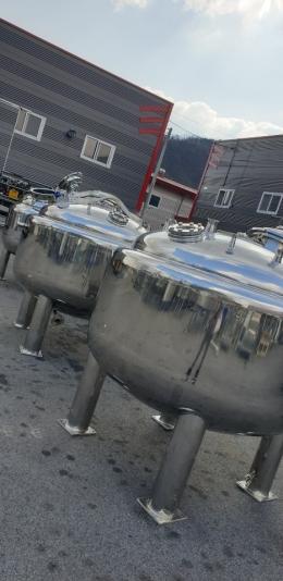 1톤3중자켓 교반탱크(스텐 316)