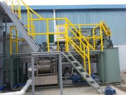 K**N 폐수처리설비기계 납품 및 설치