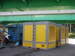 일체형스크류 콤프레샤 10HP~400HP 임대 및 판매가능(에어탱크,냉동식드라이어,쿨라,휠