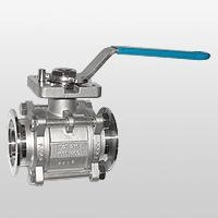 3-piece Vacuum Ball Valve