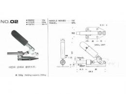 토글클램프,클램프,TOGGLE  CLAMPS(NO.02)